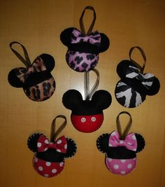 CUTE HANDMADE FELT MICKEY decoration