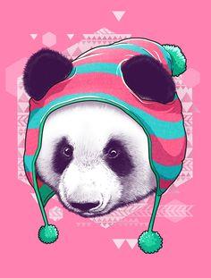 O panda no inverno!!!!!!!!!!!!!!!!!!!!