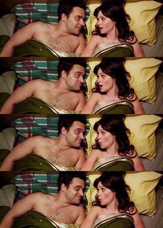 Nick and Jess and New Girl. Sitcom romances - you're doing it right.