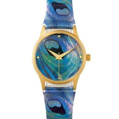 Watch for Women Tiffany Inspired Peacock Design Metropolitan Museum. $70.00