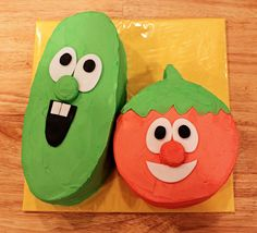 Maybe I'll surprise Micah with a Bob & Larry cake for the family party