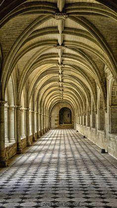 Cloisters, l' Abbaye de Fontevraud