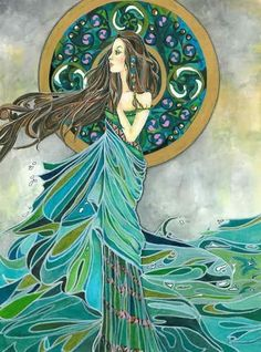 Aine, Irish goddess of summer, wealth and sovereignty.