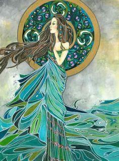 Aine, Irish goddess of summer, wealth and sovereignty.