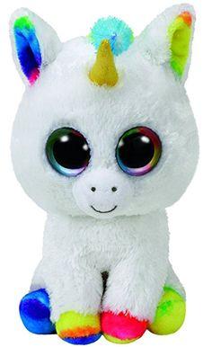TY Beanie Boo Plush - Pixy the Unicorn I love unicorns like this ONE. Ty Beanie Boos, Beanie Babies, Ty Boos, Beanie Boo Party, Cute Unicorn, Unicorn Party, Unicorn Birthday, Ours Boyds, Beanie Boos