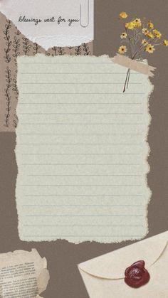 Paper Background Design, Powerpoint Background Design, Birthday Post Instagram, Happy Birthday Posters, Instagram Frame Template, Photo Collage Template, Notes Template, Collage Design, Journal Stickers