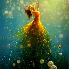 Beautiful Women Videos, Beautiful Love Pictures, Beautiful Gif, Beautiful Fantasy Art, Beautiful Fairies, Jimmy Lawlor, Foto Fantasy, Fairy Paintings, Animated Love Images