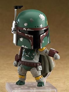 A Nendoroid of the world's most famous bounty hunter! From 'Star Wars Episode The Empire Strikes Back' comes a Nendoroid of the most famous bounty hunter in the galaxy - Boba Fett! The Nendoroid is fully articulated allowing him to be posed. Star Wars Kids, Star Wars Art, Boba Fett Action Figure, Star Wars Boba Fett, Boba Fett Art, Star Wars Merchandise, The Empire Strikes Back, Star Wars Humor, Star Wars Episodes