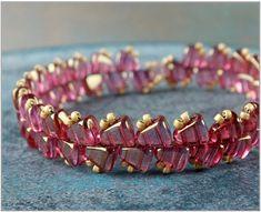 BeadSmith Exclusive Bead Store Patterns - Nib-BIt Stairway Bracelet