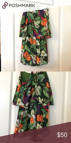 875e308f9f29 Beverly tropical print romper!!! Super cute!!   Not Free People