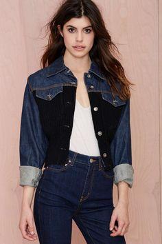 Vintage Jean Paul Gaultier Renegade Denim Jacket | Shop Vintage at Nasty Gal