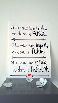 """ - B-Laz camille - Photo French Quotes, Spiritual Wisdom, Positive Attitude, Positive Affirmations, Reiki, Best Quotes, Quotations, Mindfulness, Positivity"