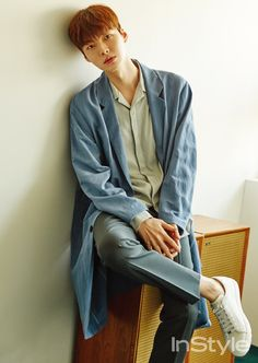 Ahn Jae Hyun for InStyle magazine April Issue Ahn Jae Hyun, Boy Fashion, Korean Fashion, Mens Fashion, Dramas, Cinderella And Four Knights, My Love From The Star, Handsome Korean Actors, Vogue Korea