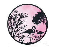 Flamingo Papercut - Wall Art - Free Personalisation #Paper #FlamingoPapercut #WallArt #PinkFlamingo #FlamingoArt #AnniversaryGift #FlamingoPrint #Papercutting #1stAnniversaryGift #PapercutArt #BirdArt #PersonalisedGift #WeddingGift #DestinationWedding