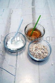 Μάσκα και peeling προσώπου με βρώμη | BeautyMe Breakfast, Tips, Desserts, Food, Morning Coffee, Tailgate Desserts, Deserts, Essen, Postres