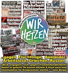 Schluss mit der Hetze von BILD, Spiegel, ARD und Co.!! https://www.facebook.com/frieden.rockt/photos/a.1620619544826314.1073741828.1620038718217730/1707950562759878/?type=3