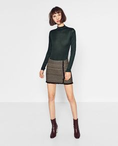 Image 1 of BODYSUIT WITH LONG SLEEVES from Zara