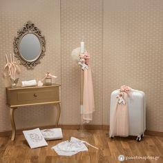 Σετ Βάπτισης Μονόκερως Baby Girl Christening, Wedding Gifts, Projects, Packing, Weddings, Decoration, Home Decor, Wedding Day Gifts, Log Projects