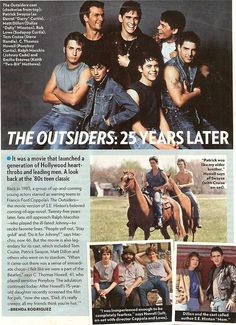 darry looks hot shirtless The Outsiders Cast, The Outsiders Imagines, The Outsiders Quotes, 80s Movies, Good Movies, I Movie, Die Outsider, Ralph Macchio The Outsiders, Greaser Girl