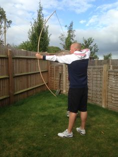 45lb traditional English longbow