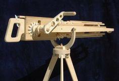 Rubberband Gatling Gun....awesome