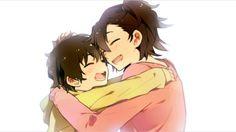 Saotome Yoichi and Saotome Tomoe