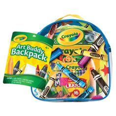 <strong>Crayola</strong> Art Buddy Backpack