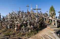 Kryziu Kalnas, The Hill of Crosses, Lithuania |  The 19 Most Unnerving Spots On Earth