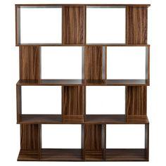 2x 4Tier Display Shelf Bookshelf Bookcase Storage Stand Rack Unit Vintage 141cm in Home, Furniture & DIY, Storage Solutions, Storage Units   eBay