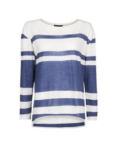 MANGO - Asymmetric hems t-shirt