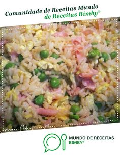 Fried Rice, Meal Prep, Fries, Healthy Recipes, Meals, Vegetables, Ethnic Recipes, Portugal, Snow Peas