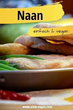Naan - einfach, lecker Hot Dog Buns, Hot Dogs, Bread, Food, Vegan Bread, Vegane Rezepte, Chickpea Curry, Fast Recipes, Easy Meals