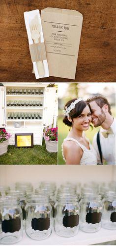 Country backyard wedding :)