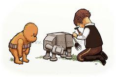 Star Wars Winnie the Pooh...cute
