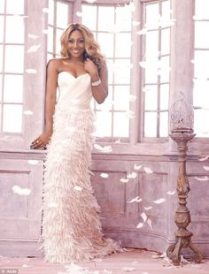 Breast Cancer Care Ambassador Alexandra Burke for this year's Tickled Pink campaign Underrated Artists, Alexandra Burke, Feather Fashion, Pink Bird, Pretty In Pink, Dress To Impress, Sexy Women, Glamour, Wedding Dresses