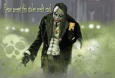 Joker zombi card