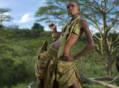 Kondakis's Upcycled-Parachute Fashions Help Educate Maasai Girls | Ecouterre
