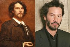 wow, these are very convincing - bizarre. 14 Time Travelling Celebrities