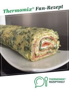 Spinat-Lachs Rolle ohne Teig Spinach salmon roll without dough! from A Thermomix ® recipe from the Baking category www.de, the Thermomix® Community. Fun Pizza Recipes, White Pizza Recipes, Snack Recipes, Egg Recipes, Pasta Recipes, Free Recipes, Spicy Pizza, Spinach Health Benefits, Salmon Roll