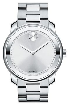 Movado 'Bold' Bracelet Watch, 43mm available at #Nordstrom