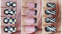03 UNHAS DECORADAS FÁCEIS DE FAZER - Nails Art Easy | Gersoni Ribeiro Nail Polish, Nail Art, Nails, Easy, Youtube, Nailed It, Art Nails, Perfect Nails, Blouses