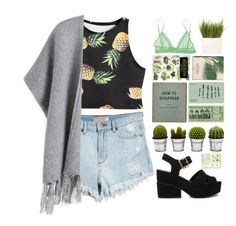 """""""#163"""" by flowersblood ❤ liked on Polyvore featuring GUESS, ASOS, Billabong, Eberjey, Linea, Taschen and Moleskine"""