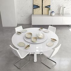 Awesome Elegant Modern Round Dining Table Sets Tasty Modern White Round And Oval Glass Dining Table Oval Glass Dining Table, Round Dining Table Modern, Contemporary Dining Table, Wooden Dining Tables, Dining Table Design, Table Seating, Dining Room Table, Dining Chairs, Ikea Table