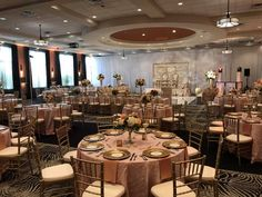 This elegant blush affair at Esplanade is giving us life right now! So glam! Click the image to learn more. Photo credit: Esplanade Memphis