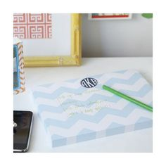 Dabney Lee Personalized Desk Notepad