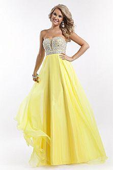 71 best Yellow wedding images on Pinterest   White wedding dresses ...