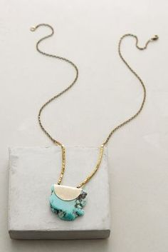 Seastone Pendant Necklace