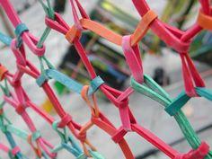 rubber band art