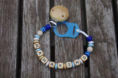 "Schnullerkette ""Mamakind"" von Wiesenfuchs auf DaWanda.com Washer Necklace, Etsy, Jewelry, Kids, Jewlery, Jewerly, Schmuck, Jewels, Jewelery"