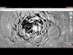 on Mar 16, 2011  http://www.pukkapeng.co.uk This is the Lunar South Pole Shackleton Crater Rim which is not visible from anywhere on earth. The images show 'discrete cosine transforms' (DCT) which is a form of 'targeted' file reduction. Google; 'NASA Plans Permanent Moon Base' (New York Times) to see the 'proposals' for this precise location...